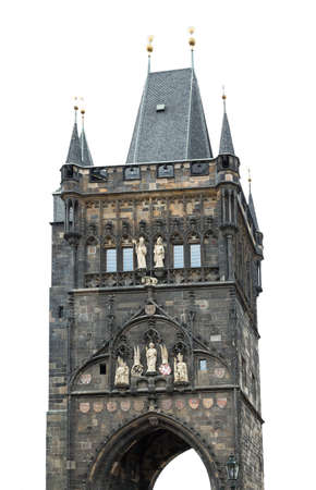 Powder Tower Prague Czech Republic photo