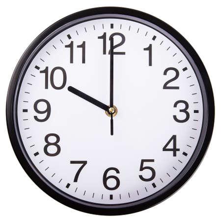 clock Isolated on white background photo