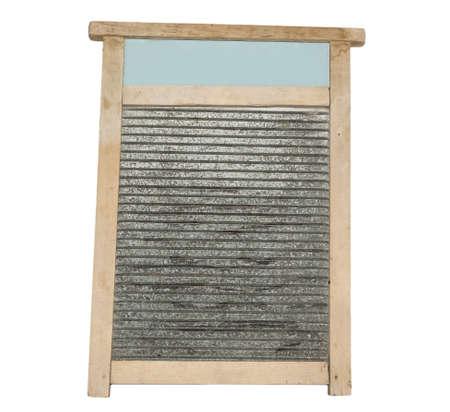 washboard: washboard isolated on white background Stock Photo