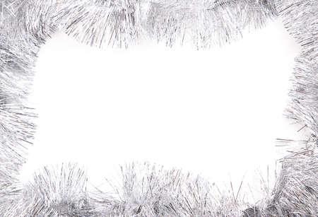 trumpery: tinsel frame background