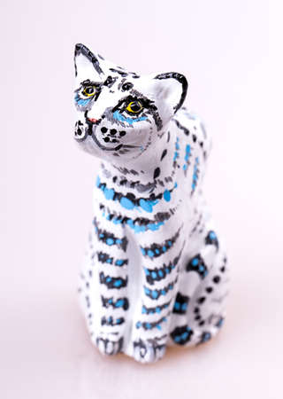 cat toy Isolated on white background photo