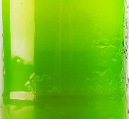 green beer bottle: green beer bottle background close up