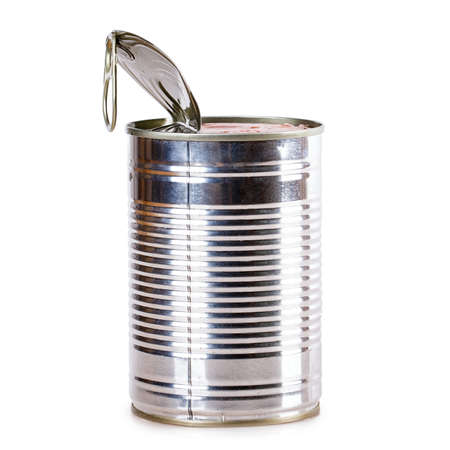 tin: tin can Canned metal blank
