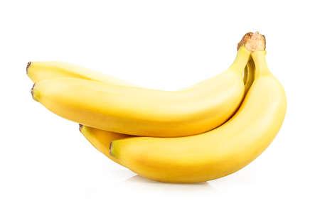 flesh colour: bananas Isolated on white background