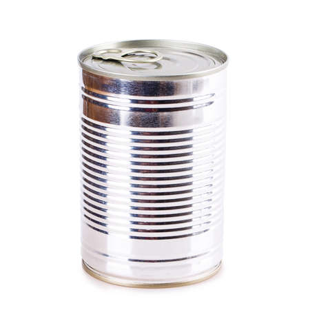 tinned goods: tin can Canned metal blank