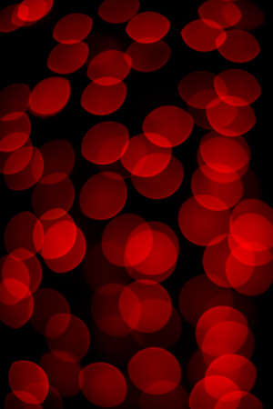 festive: red bokeh background festive lights