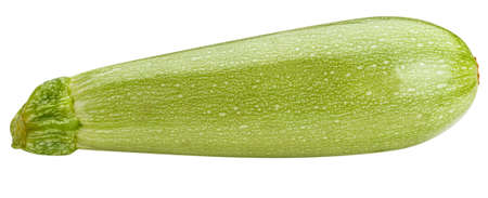 vegetable marrow isolated on white background