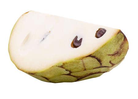 cherimoya Isolated on white background