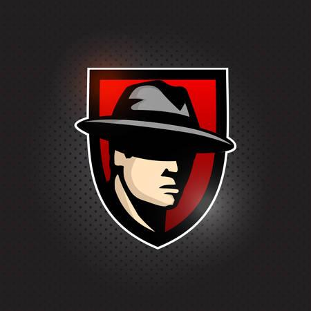 Mafia Mascot Sport Esport Logo Design