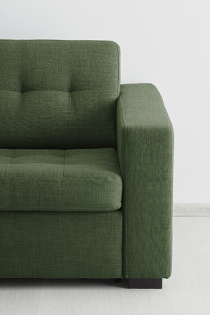 Sofa isolated against the wall Stock Photo