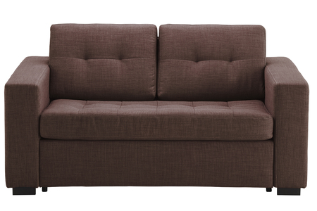 Sofa isolated on white include clipping path