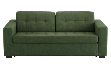 Sofa isolated on white background. Include clipping path