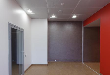 Empty office space in modern building