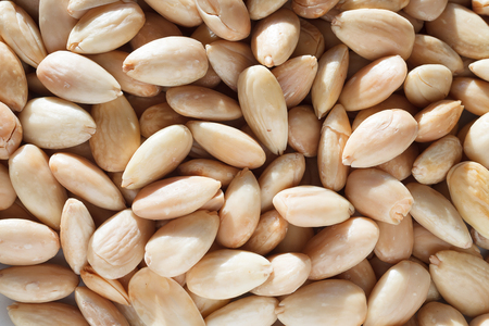 Blached almonds Stock Photo