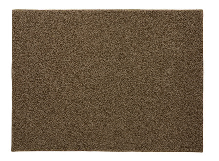 Rug isolated on white background. Include clipping path
