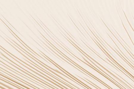 Beige fabric folds. 3d render Stock Photo
