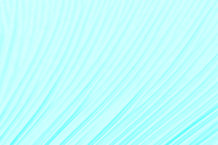 Turquoise fabric folds. 3d render