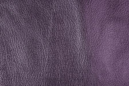 leatherette: Violet leather texture. Horizontal, close up Stock Photo