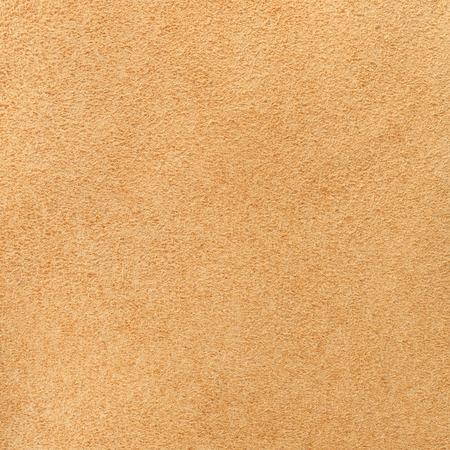 Orange velour texture. Square, close up