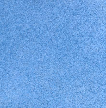 Cyan velour texture. Square, close up Reklamní fotografie