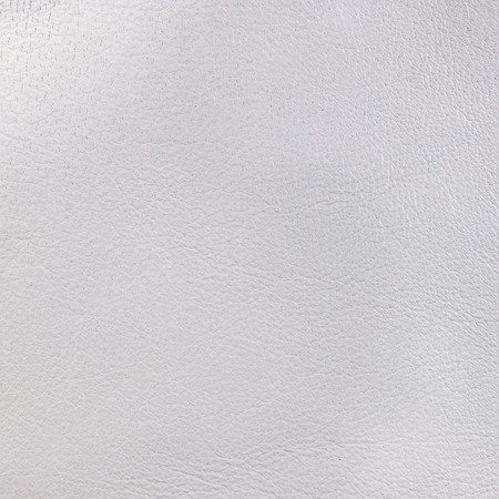 leatherette: White leather texture. Square, close up