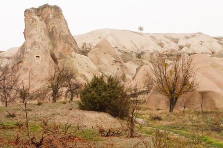 View of Pidgeon Valley, Cappadocia, Turkey