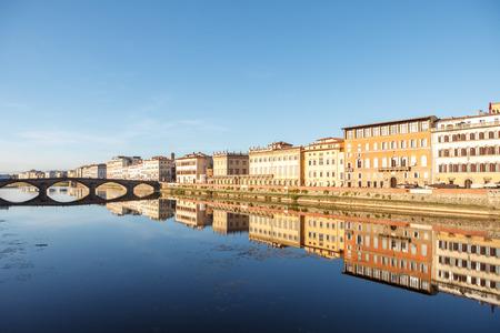 Ponte alla Carraia bridge over river Arno. Florence (Firenze), Italy.