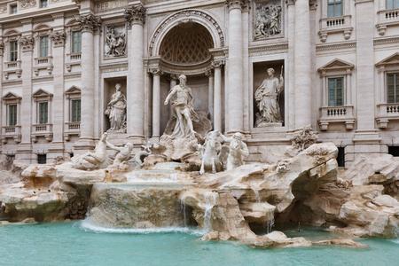 Trevi fontein in Rome, Italië.