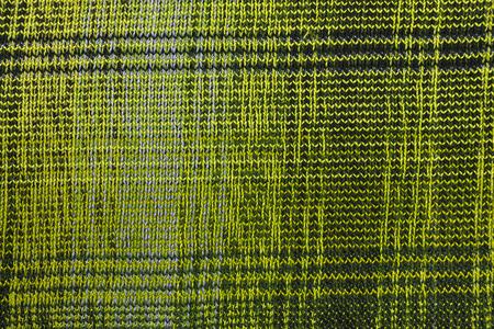 Yellow  jacquard knitwear fabric texture