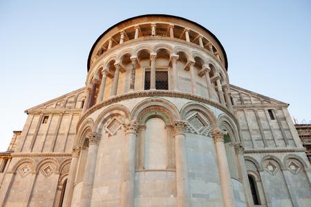 Apse of Duomo di Santa Maria Assunta on piazza dei miracoli in Pisa, Italy