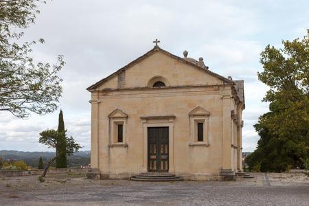 Our Lady of Conception (Hermitage of Nossa Senhora da Conceicao). Tomar, Portugal Stock Photo