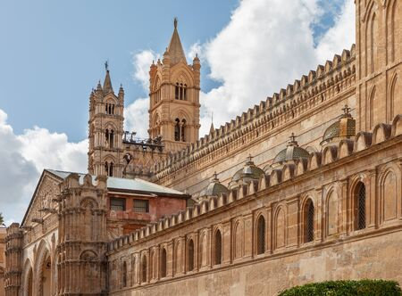 Cathedral of Palermo. Palermo, Sicily, Italy. Stock Photo