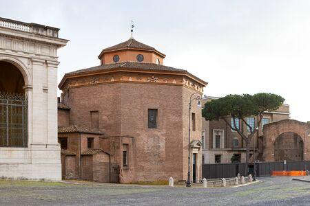Lateran Baptistery of the Archbasilica of Saint John Lateran. Rome, Italy