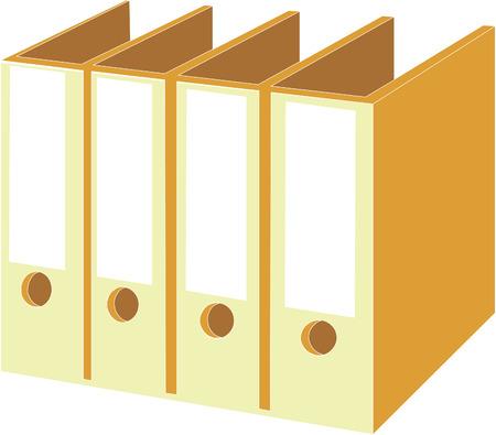 Folder set 01 Stock Vector - 5067909