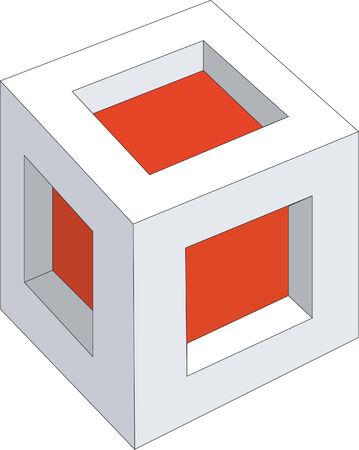 splice: 3d cubes in color 11