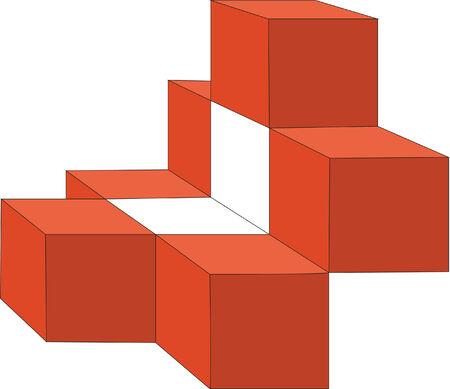 splice: 3d cubes in color 13