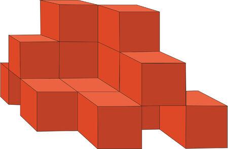 splice: 3d cubes in color 14