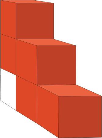 splice: 3d cubes in color 15
