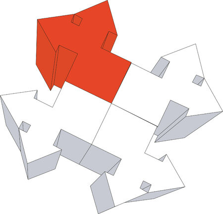 3d arrow in color Stock Vector - 5162837