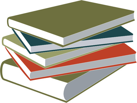 book in color 01 Vector