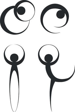 people dancing black