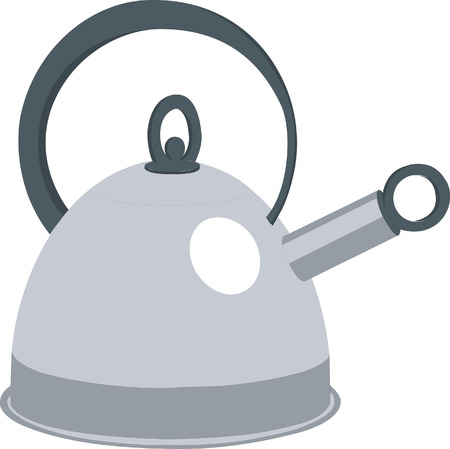 Tea pod in color 01 Vector