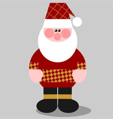 Vector. Santa Claus in color 02 Stock Vector - 5719525