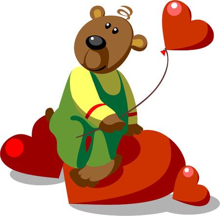 Bear amore pronto a colori 20