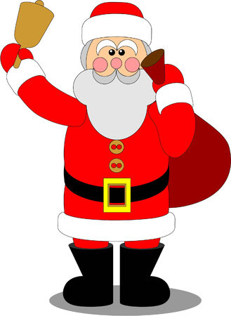 Santa Claus in color 04 Stock Vector - 5892025
