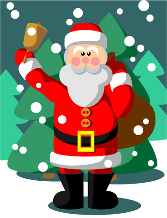 Santa Claus in color Vector
