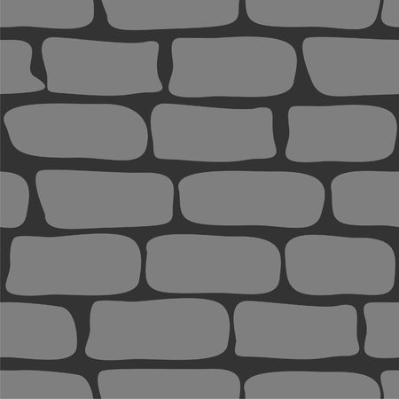 stone wall:  Seamless ornament