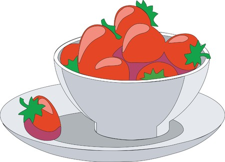 fruitcup 01 Vector