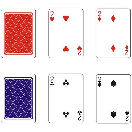 Playing card set  Stock Vector - 8007815