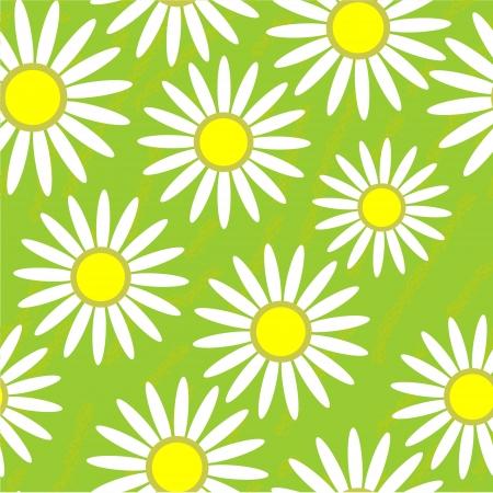Seamless grunge flower texture Stock Vector - 15732276